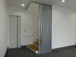 事務所棟エントランスホール